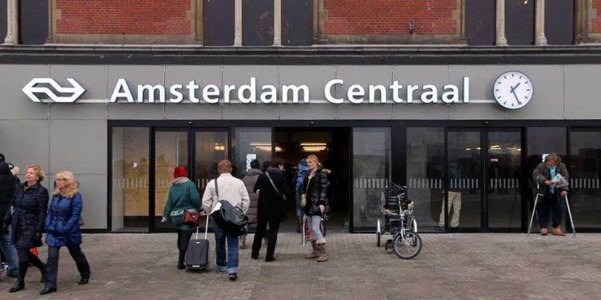 Foto van Stationsplein voor CS A'dam | BON