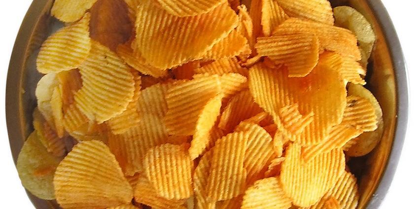 Kwart van naturelchips bevat veel acrylamide