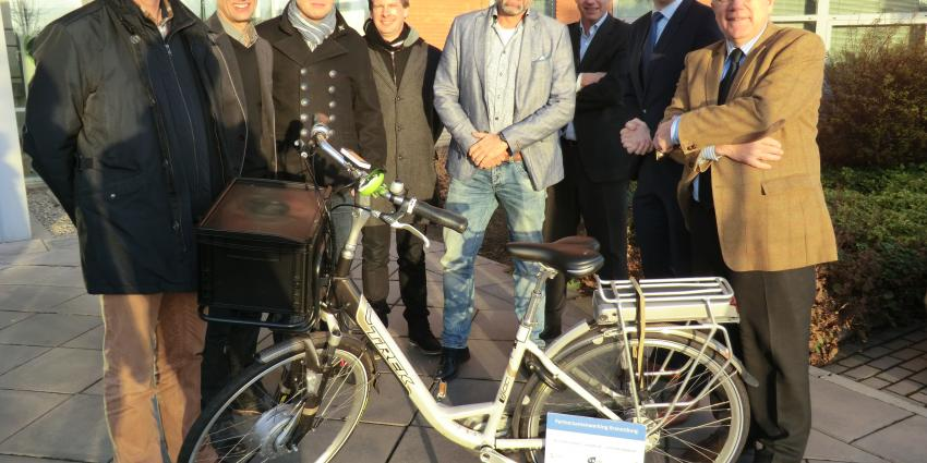 Bedrijven werken samen aan betere fietsbereikbaarheid op Kranenburg