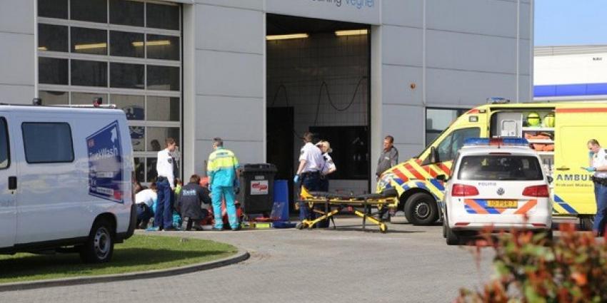 Foto van ongeval Truck Cleaning   Tom Louter   www.112brabantnieuws.nl