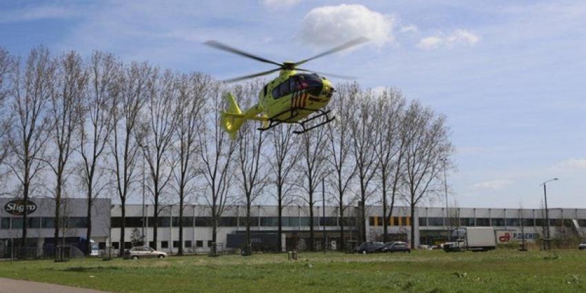 Foto van traumahelikopter   Tom Louter   www.112brabantnieuws.nl