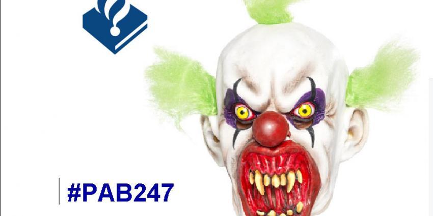 Politie vindt 'killer-clowns' niet grappig maar 'puberaal en heel sneu'