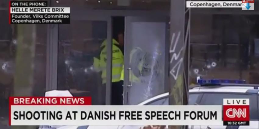 Verdachte schietpartijen Denemarken dood geschoten
