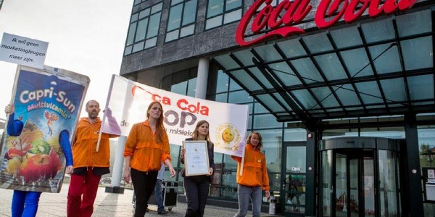 Coca Cola weigert Gouden Windei 2014 in ontvangst te nemen