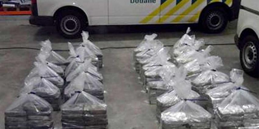 Douane onderschept 300 kilo cocaïne