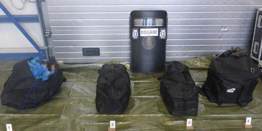 Honderd kilo cocaïne gevonden in Rotterdamse haven