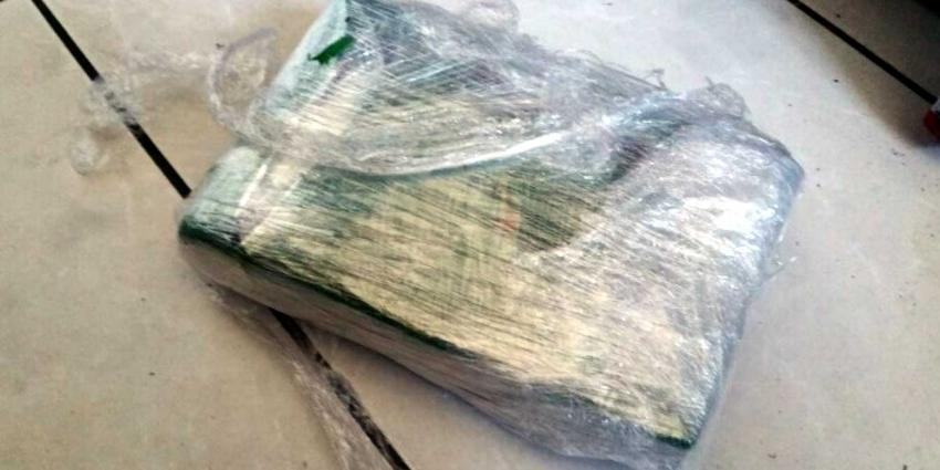 Cocaïne in aluminium blokken aangetroffen