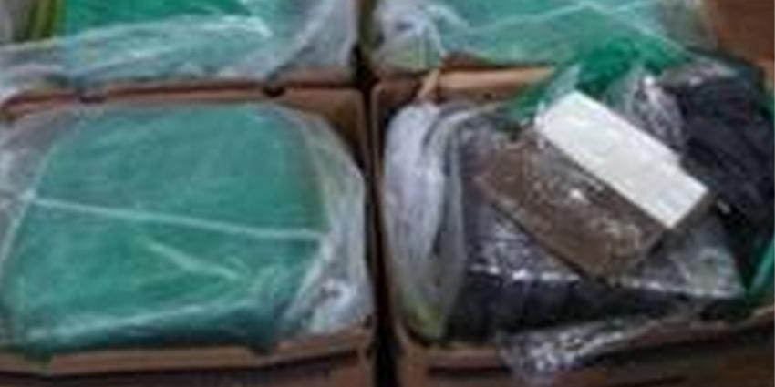 130 kilo cocaïne tussen de bananen gevonden
