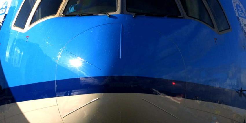 KLM-piloot met laser verblind tijdens landing