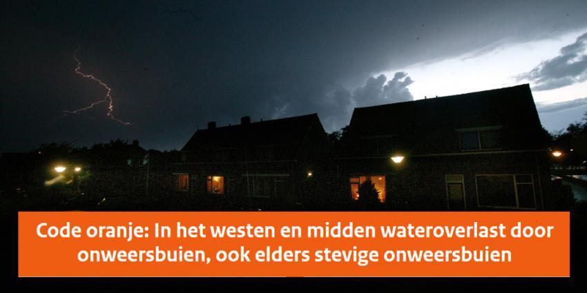 KNMI waarschuwt met code oranje voor extreem weer