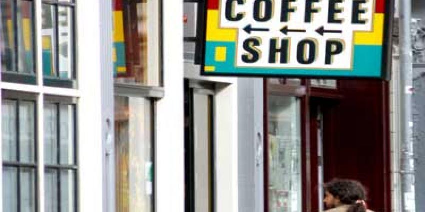 Opnieuw coffeeshop in Amsterdam beschoten