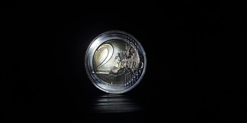twee euro munt