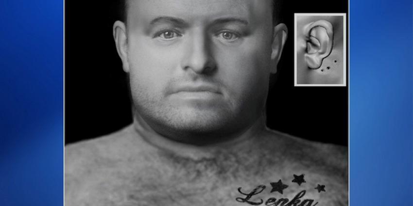 Vermoorde man Scheurhaven krijgt 'gezicht' met computerreconstructie