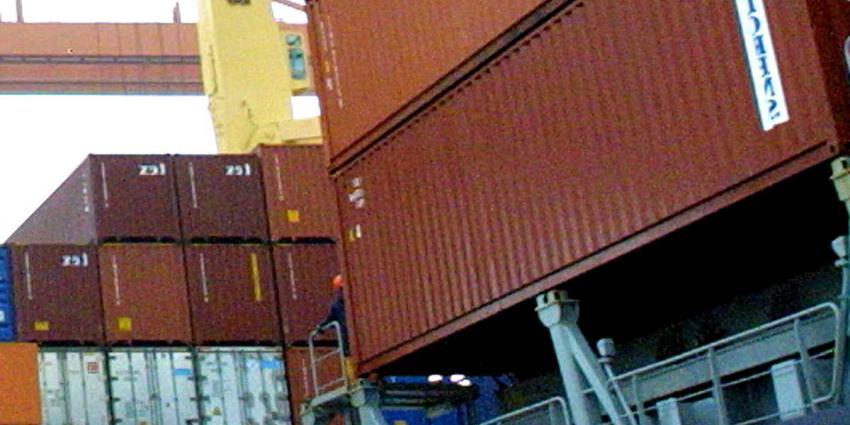Foto van containers