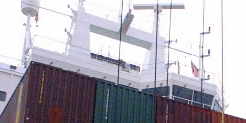 Werelds grootste containerschip zondag aangekomen in haven Rotterdam
