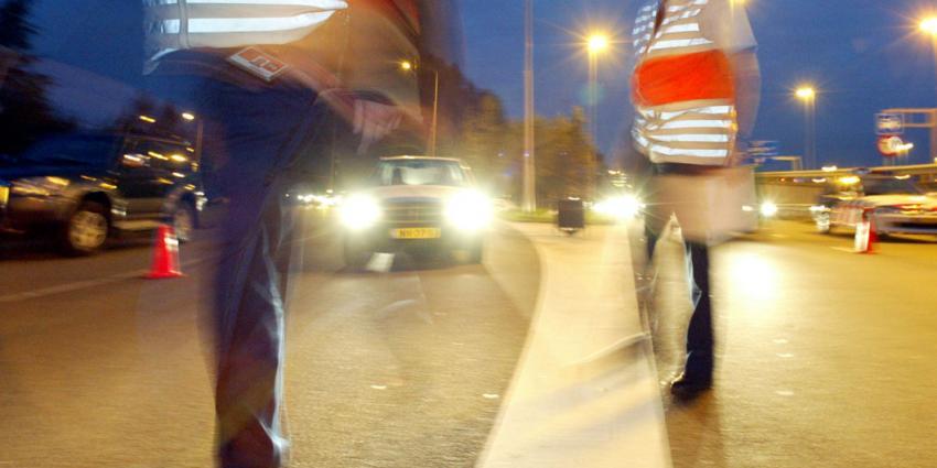 Verkeerscontrole in Groningen