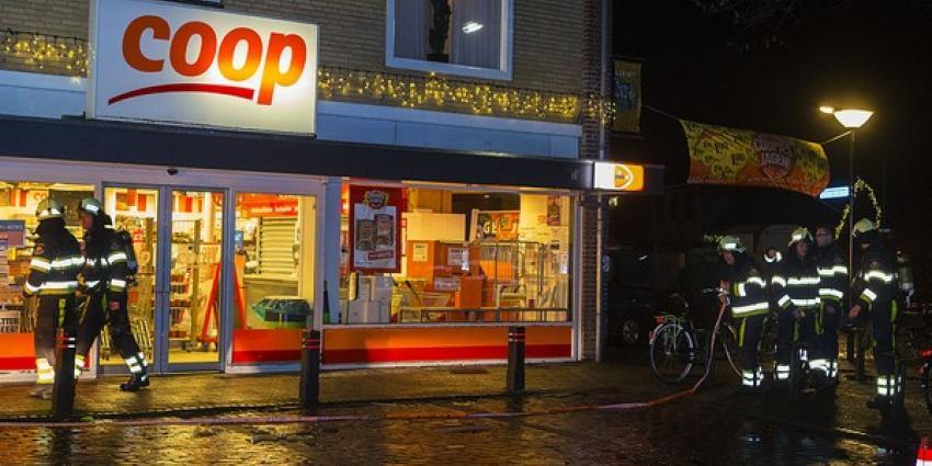 Verdacht pakketje bij postagentschap aan de Nieuwstraat in Liempde