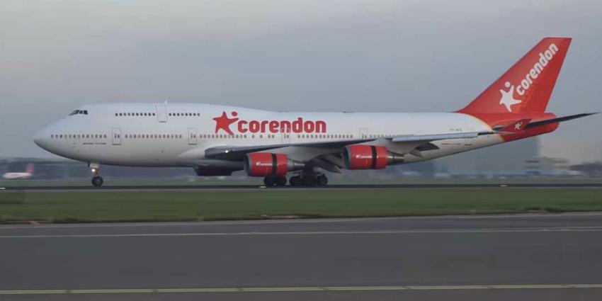 Boeing 747 vanacht even op de A9