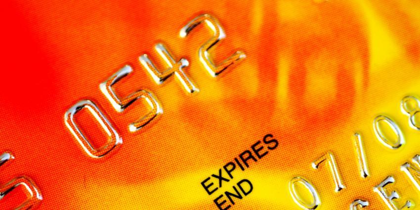 Postzakken gestolen om credit cards