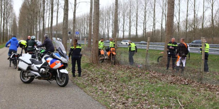 Endurorijder gewond bij ongeval langs A2