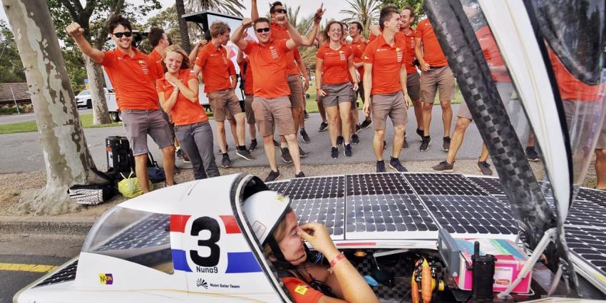 Studenten Nuon Solar Team opnieuw wereldkampioen