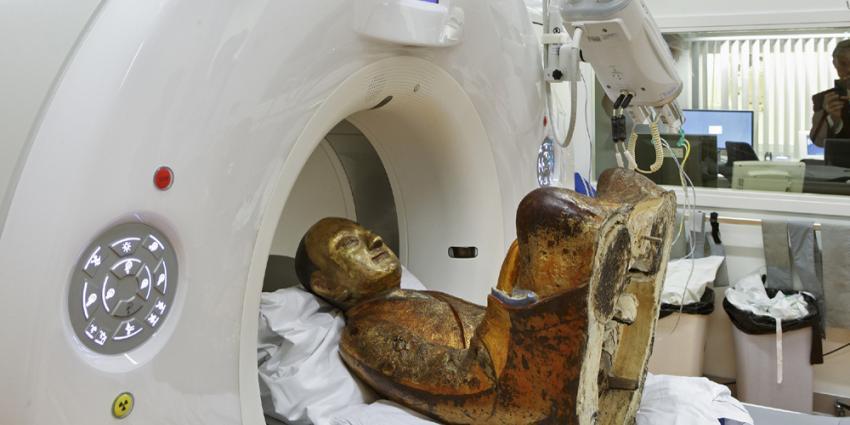 Bijna duizendjarige in CT-scanner MMC Amersfoort