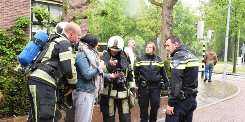 Brandweer rukt massaal uit voor rook uit cv-installatie
