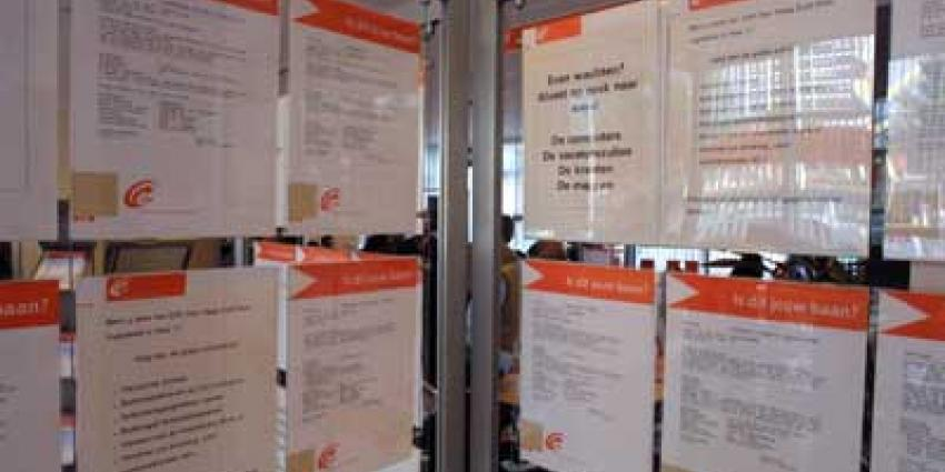 Foto van CWI zoeken naar baan werk | Archief EHF