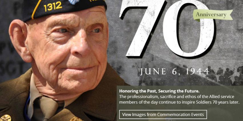 Foto van D-Day herdenking | US Army