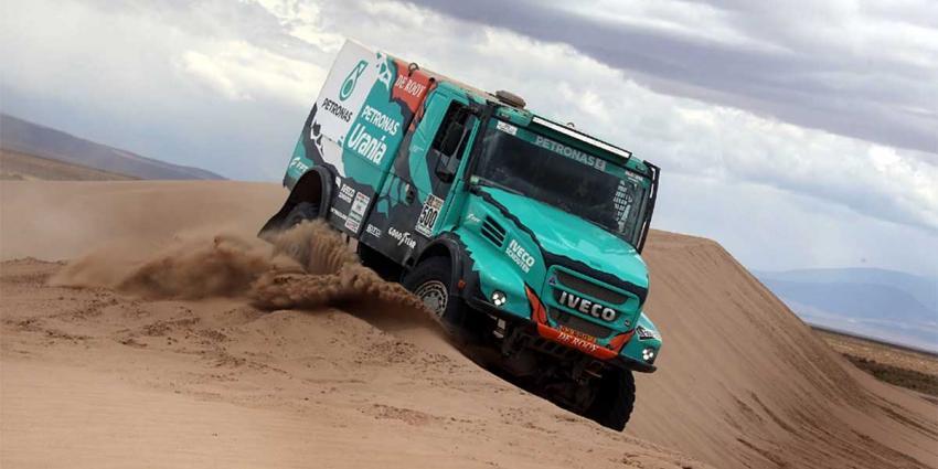 Nederlandse koprijders Dakar Rally uit de race door technische problemen