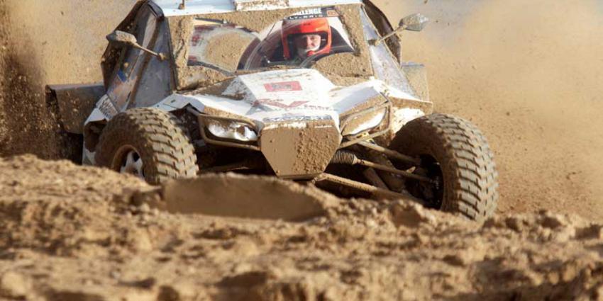 Coureurs Dakar op laatste PreProloog