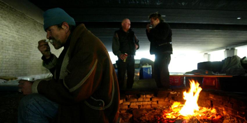 foto van dakloze | EHF