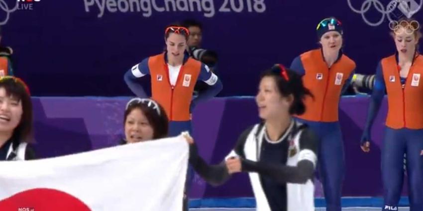 Japanse vrouwen te sterk, Nederland pakt zilver