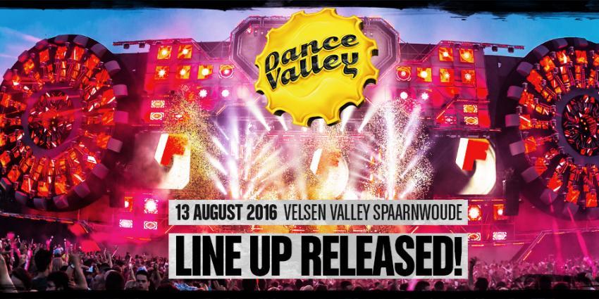 Dance Valley maakt line-up 2016 bekend