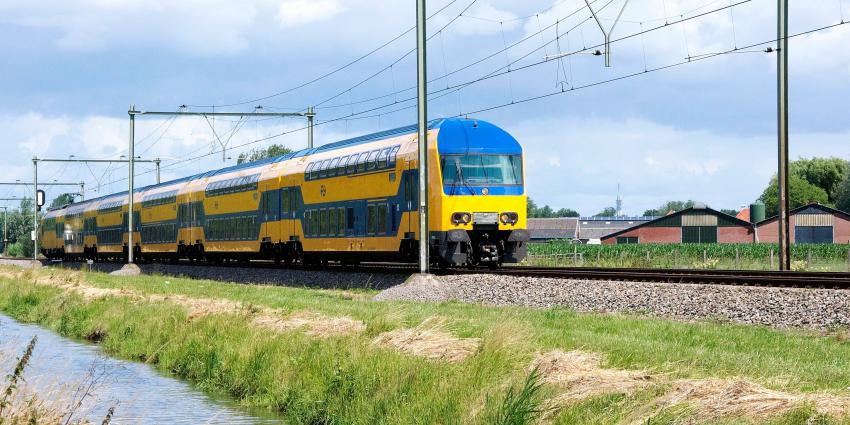 Rijdende DDZ trein