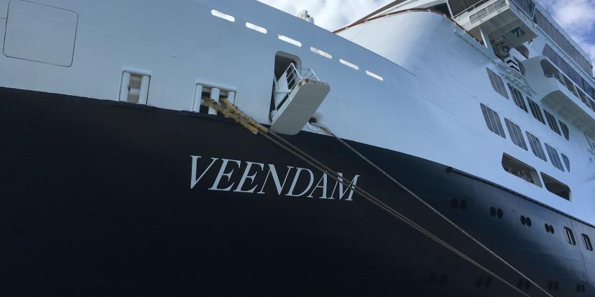 Veendam in de vaart: varen onder de vlag van de Holland-Amerika Lijn