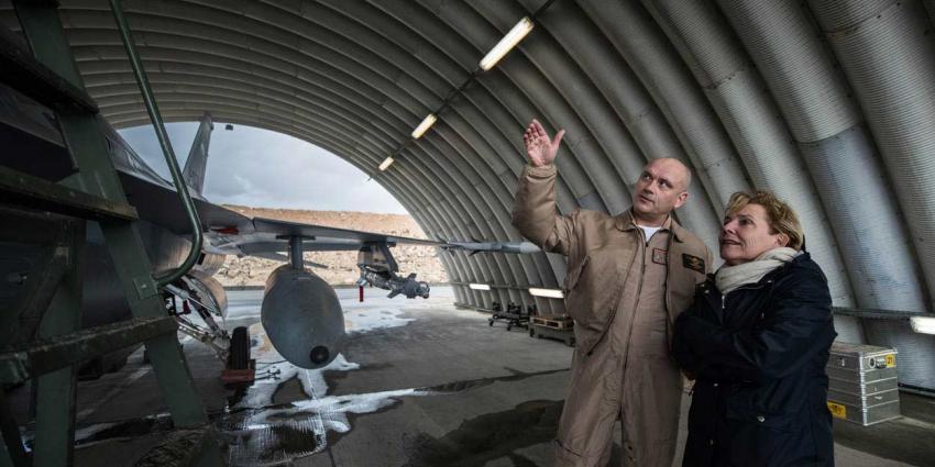 Nederlandse F-16's weer actief boven Irak en Oost-Syrië