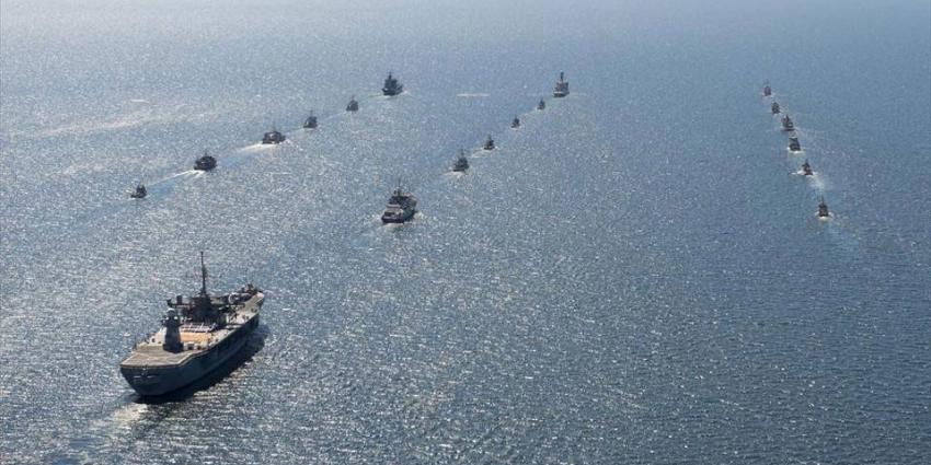 Groote NAVO-oefening sinds 2002 van start gegaan