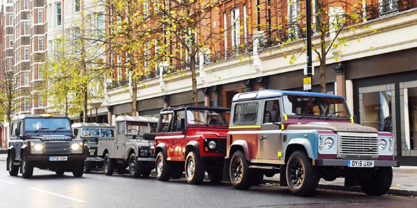 Tweemiljoenste Land Rover Defender onder de hamer voor goed doel