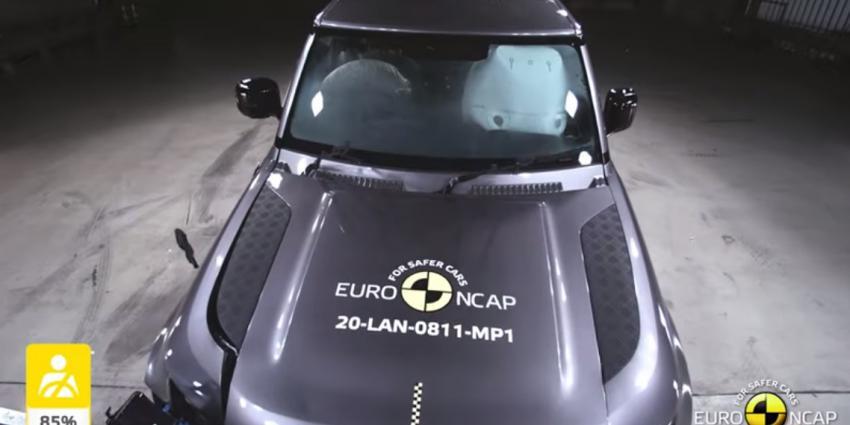 Land Rover Defender krijgt eindelijk veiligheidssterren met Defender