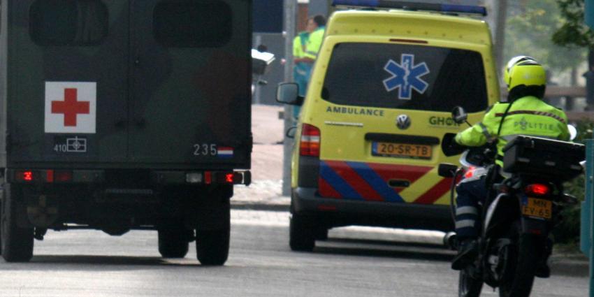 Militairen gewond bij aanrijding op vliegbasis Volkel
