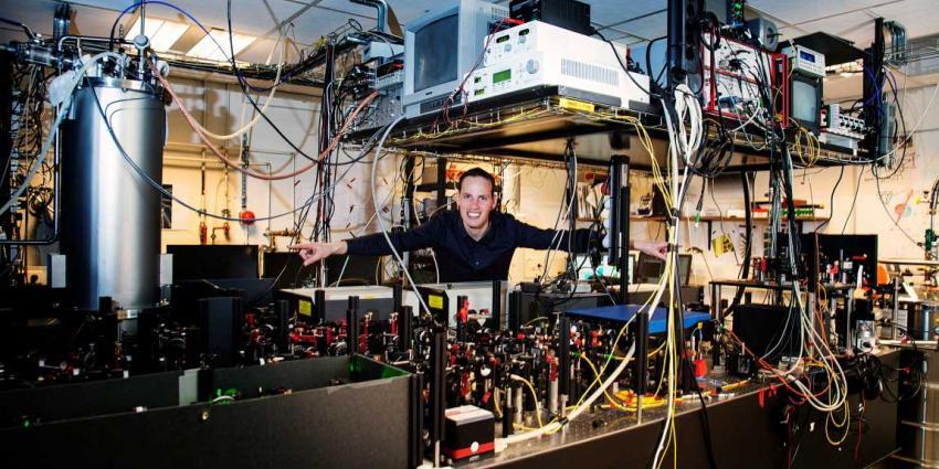 foto van quantum-internet | TU-Delft
