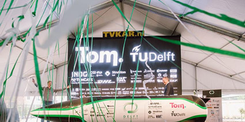 Delftse studenten winnen Hyperloop Pod Competitie