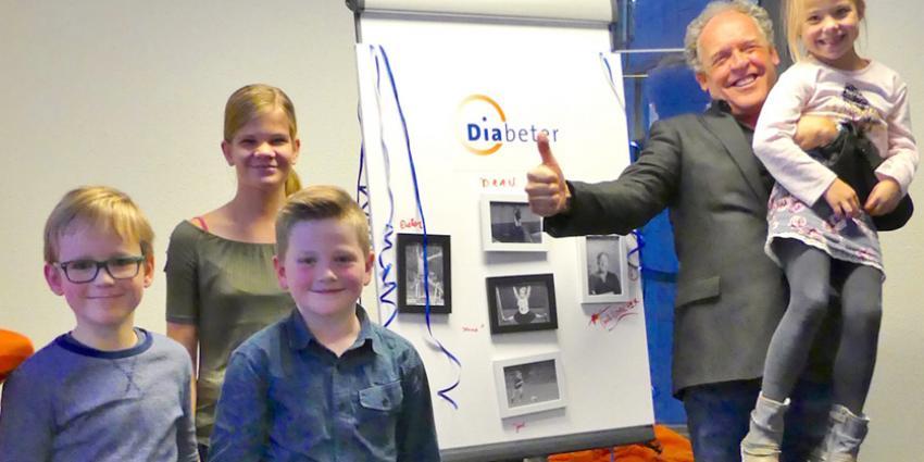 Bert Visscher opent nieuw diabetescentrum in Groningen