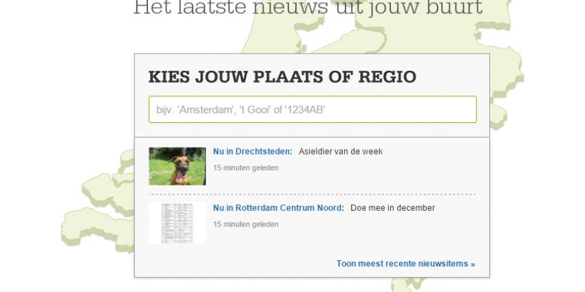 Dichtbij.nl is niet meer zo dichtbij in kerngebieden