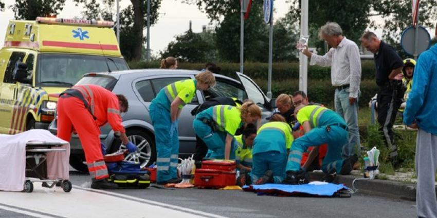 Motorrijder zwaargewond na ernstig ongeval Diemen