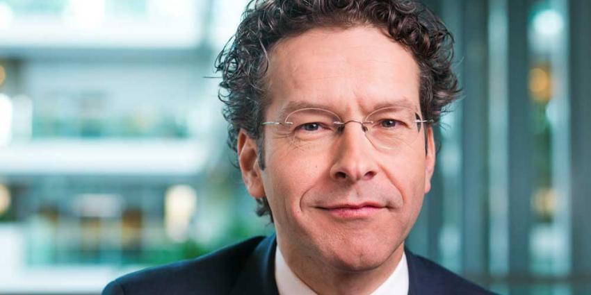 Foto van Dijsselbloem minister Financiën | RVD