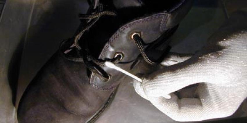 Foto van DNA materiaal schoenveter | Archief EHF