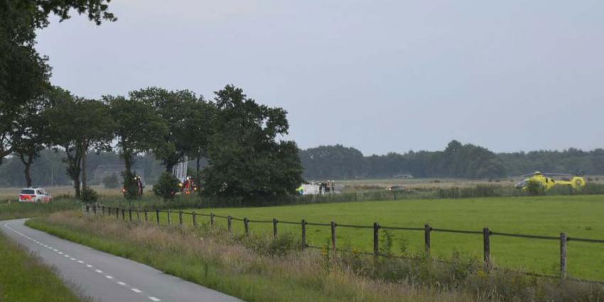 Dode bij eenzijdige aanrijding in Drentse Roderesch