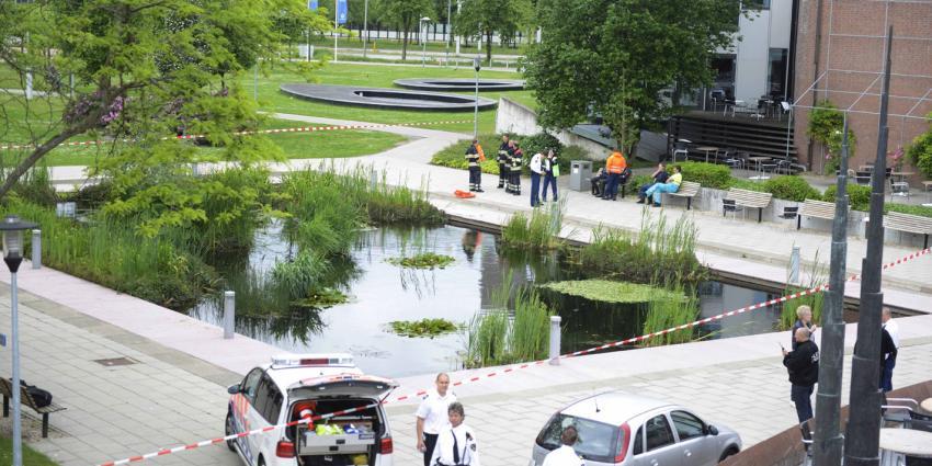 Dode man aangetroffen in vijver bij het UMC Utrecht